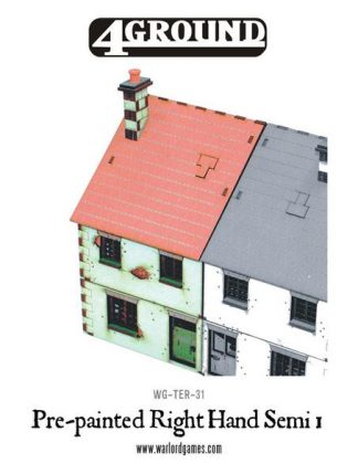 Pre-painted Right Hand Semi-Detached House 1