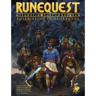 RuneQuest RPG: Roleplaying in Glorantha Deluxe Slipcase Set 1