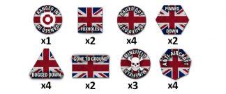Team Yankee British Token Set 1