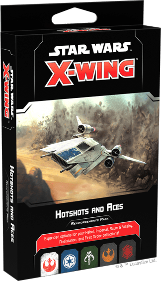 Star Wars X-Wing: Hotshots and Aces Reinforcements Pack 1