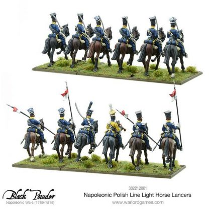 Napoleonic Polish Line Light Horse Lancers 4