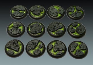 Lava: 30mm Round Bases (Lipped) (12) 1
