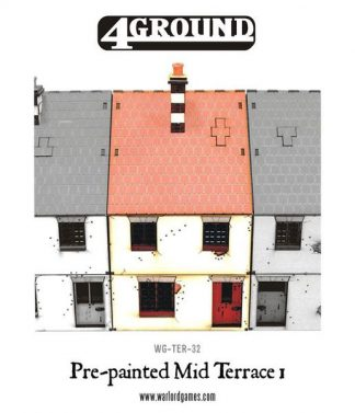 Pre-painted Mid Terrace House 1