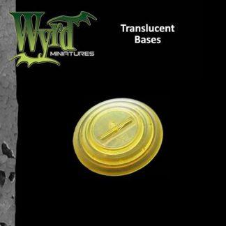 Gold Translucent 30mm bases (10 pack) 1