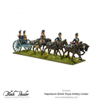 Napoleonic British Royal Artillery Limber 1