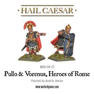 Pullo & Verenus, Heroes Of Rome 1