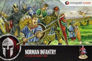 Norman Infantry plastic boxed set 1