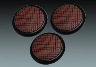 Small Tiles: 50mm Round Bases (Lipped) (3) 1