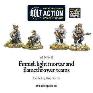 Finnish Light Mortar & Flame Thrower 1