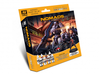 Model Color Set: Infinity Nomads (+Exclusive Miniature) 1