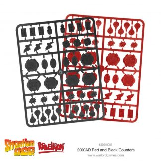 2000 AD Red & Black Counters 1