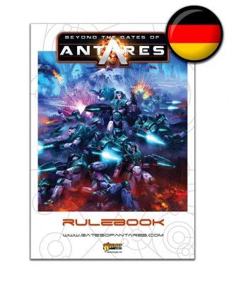 Beyond the Gates of Antares Rulebook (German) 1