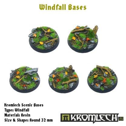 Windfall round 32mm (5) 1