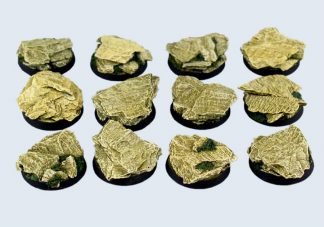 Shale Bases, Round 25mm (5) 1