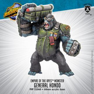 Monsterpocalypse Empire of the Apes General Hondo 1