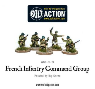 French Infantry Command Group 1