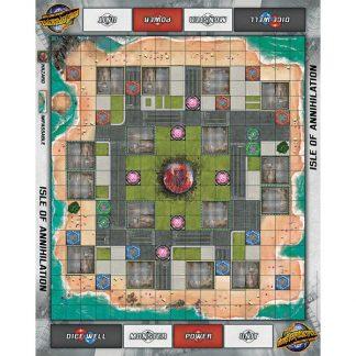 Monsterpocalypse Isle of Annihiliation Fabric Playmat 1