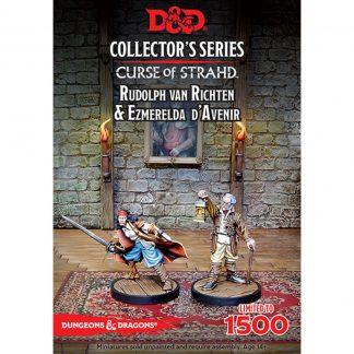 D&D: Ezmerelda D'Avenir & Rudolph Van Richten 1