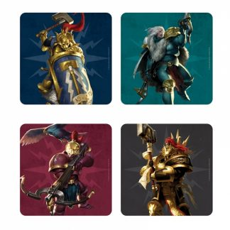 Warhammer Age of Sigmar Coasters (Set of 4) - Stormcast 1