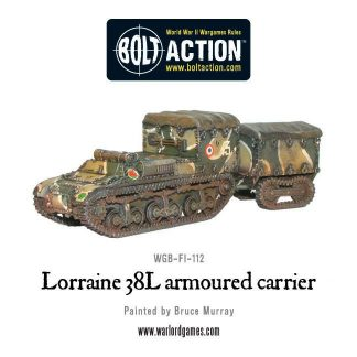 French Lorraine 38L armoured carrier 1