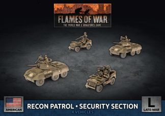 US Recon Patrol Security Section 1