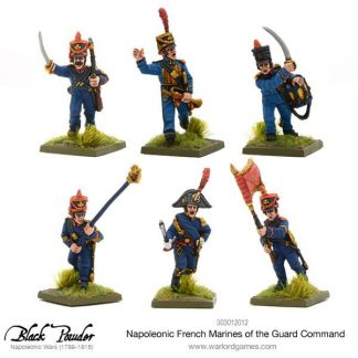 Napoleonic French Marines of the Guard Command 1