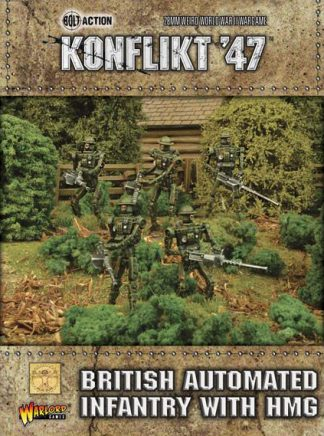 British Automated Infantry with HMG 1