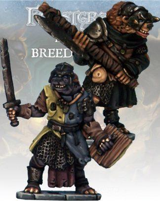Frostgrave: Gnoll Knight & Templar 1