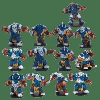 Dreadball: Midgard Delvers Forge Fathers Team 1