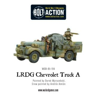 British LRDG Chevrolet Truck A 1