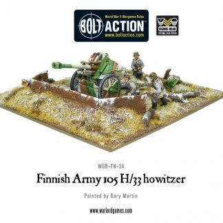 Finnish 105mm H/33 Howitzer 1