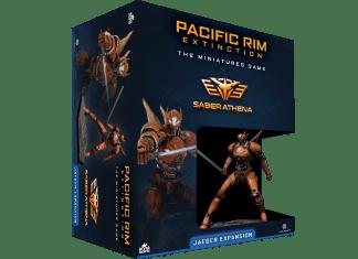 Pacific Rim: Saber Athena Jaeger Expansion 1