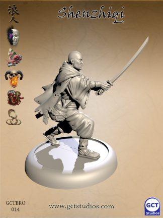 Shenzhiqi, Blood Brother Samurai 1