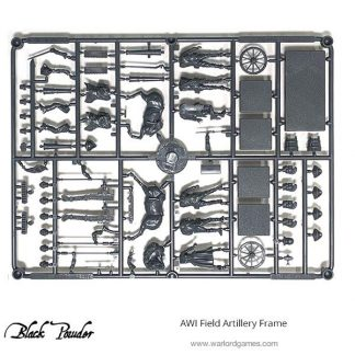 AWI Field Artillery Frame 1