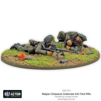 Belgian Chasseurs Ardennais Anti-tank Rifle Team 1