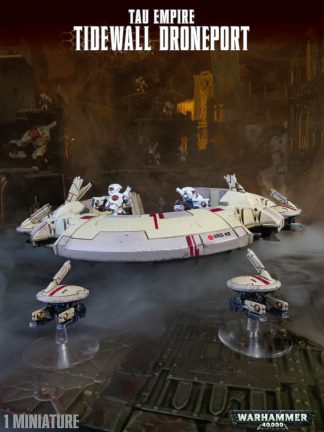 T'au Empire Tidewall Droneport 1