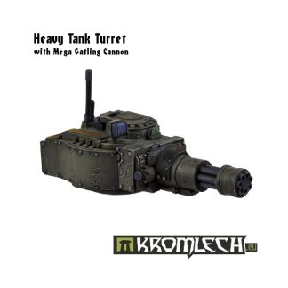 Panzer 38 Turret with Mega Gatling Cannon 1
