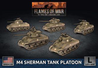 US M4 Sherman Tank Platoon 1