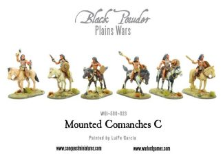 Mounted Comanches C 1