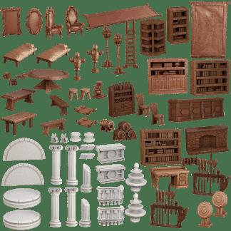 Terrain Crate: Adventurers Crate 1
