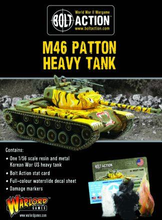 US M46 Patton Heavy Tank 1