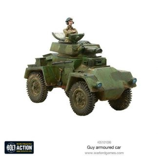 British Guy Armoured Car 1