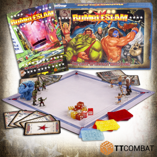 Rumbleslam 2-Player Box (New Rulebook!) 1