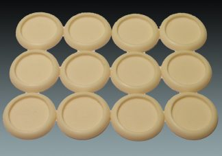Recessed: 30mm Round Bases (Lipped) (12) 1