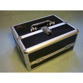 Small Aluminium Case - Half Width (Black) 1