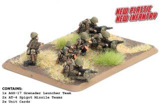 Motor Rifle Heavy Weapons (Plastic) 1