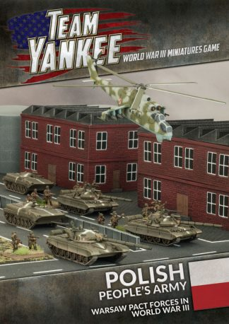 Team Yankee: Polish People's Army Booklet & Cards 1
