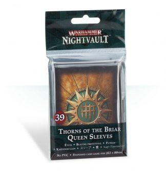Warhammer Underworlds: Nightvault Thorns of the Briar Queen Sleeves 1