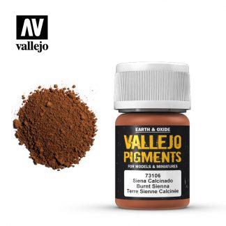 Vallejo Pigment - Burnt Sienna 1