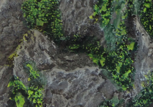 Rocky Outcrop: 170x105mm Oval Base 1